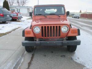 2002 Jeep TJ SE SUV, Crossover