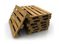 Pallets free for collection.