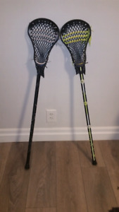 3k LAX lacrosse sticks NEW