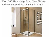Shower Enclosure and free tray