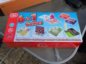 CHAD VALLEY 6 IN 1 GAMES BRAND NEW NEVER USED