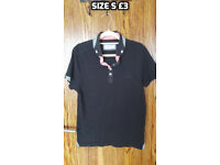 Mens shirts, polo shirts, jeans etc Size s-m
