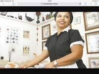 Full Time, Live out Housekeeper/Nanny Needed NW London £35K NET