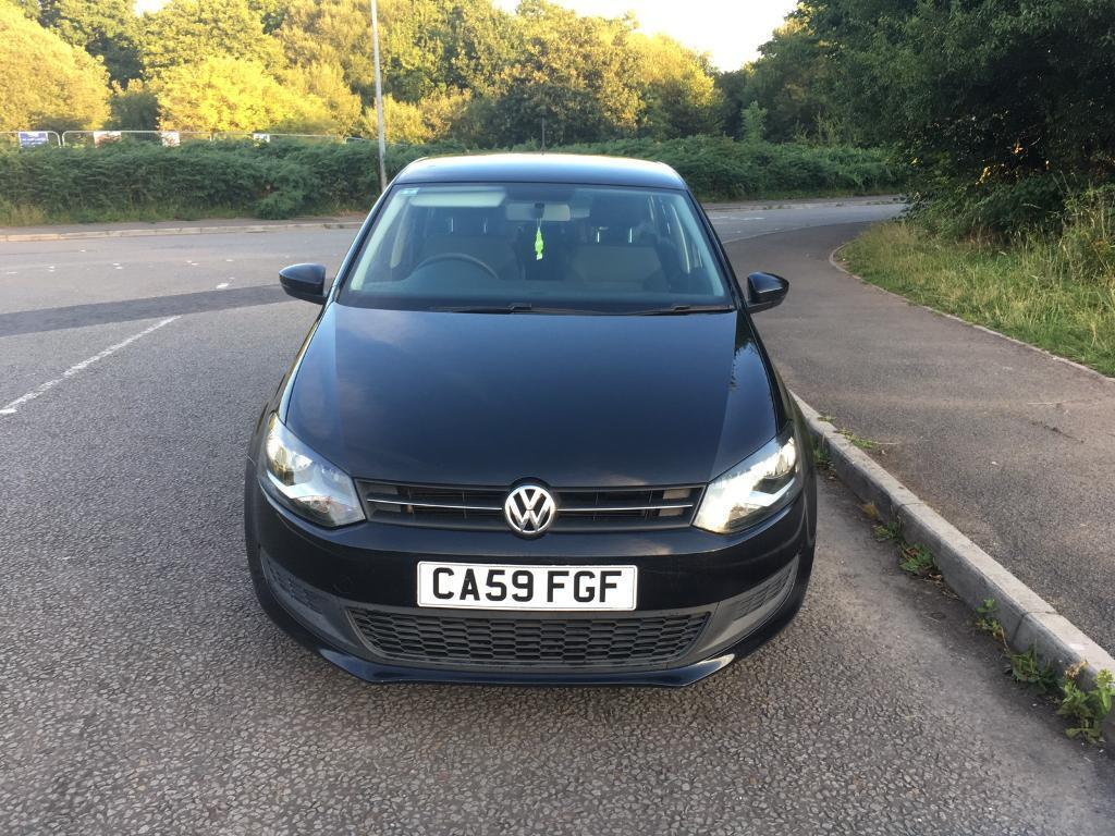 vw polo black 5dr 1 6 tdi 2009 in cyncoed cardiff. Black Bedroom Furniture Sets. Home Design Ideas