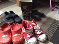 Boys shoes size 9,5 and size 10