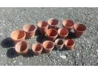 Terracotta Garden Plants Pot Assortment