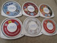 6 OLD SONY PSP GAMES FILMS