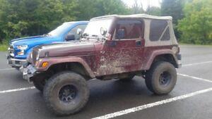 2002 Jeep TJ Cabriolet