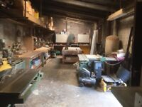 workshop and yard for sale