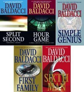 DAVID BALDACCI COMPLETE SET MAXWELL KING