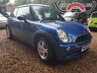 MINI Hatch 1.6 One 3dr FREE WARRANTY, NEW MOT, HPI CLEAR, CLEAN CAR BARGAIN, P/X WELCOME