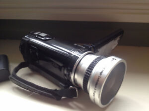 Sony HDR CX110 High definition camcorder + free fisheye lens