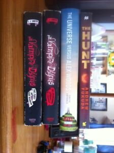 4 young adult books