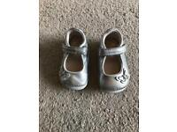Girls clarks shoes size 2.5F