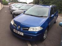 Renault Megane 1.6 Automatic Estate 2008 Long MOT