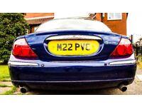 2001 Jaguar S Type Spare Or Repair Pacific Blue Full Barley Leather Interior