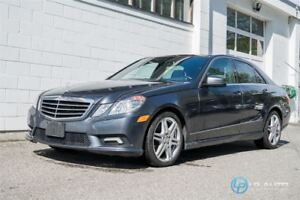 2010 Mercedes-Benz E-Class E350 4MATIC AMG Sport Package!