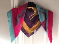 Joules 100% silk scarf