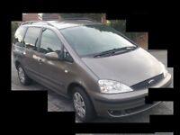★ 02 Ford galaxy 2.3 Petrol Mpv 7 Seater ★