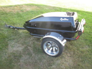Road Dog motorcycle trailer.