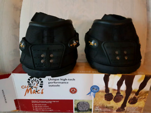 Horse boots.