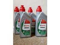 4 Litres Castrol ACTEVO 10w 40 Motorcycle Oil - new/sealed