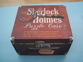The Sherlock Holmes Puzzle Case Card Game Boxed