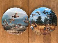 Danbury Mint David Maas Game Birds Collection plates
