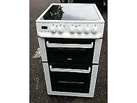 ZANUSSI FREE STANDING 50cm ELECTRIC COOKER, EXCELLENT CONDITION 4 MONTHS WARRANTY