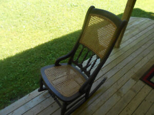 ---------------ANTIQUE SMALL ROCKER CHAIR--------------------