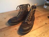 Men's Dr Martens Groucho Brown 8 hole