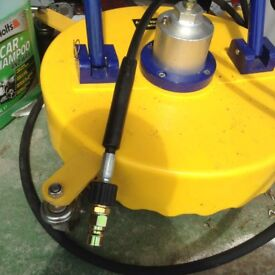 Industrial path washer
