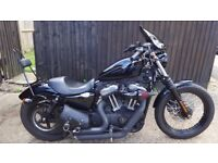 Harley Davidson XL 1200 N Nighster 2008