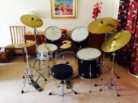 Customised drum kit