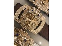 Diamonds Designer Belts