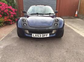 Smart car roadster turbo coupe