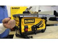 Dewalt dw745 table saw 110v