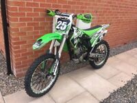 Kawasaki Kxf 250 Motocross bike not 450 125 Ktm yzf yz Cr crf