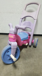 Tricycle style big wheel