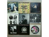 "9x Ian Dury & The Blockheads lp albums/12"" singles! Rock punk"