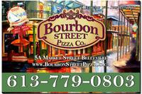 Bourbon Street Pizza Is Hiring Severs!