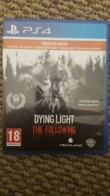 Ps4 dying light the following enhanced edition.