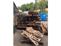 FREE wooden pallets (broken)
