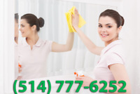 HOUSE CLEANING IN GREATER MONTREAL AREA / FEMME DE MENAGE