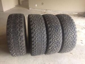 37-12.5-17 BFG all terrains for sale