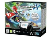 Nintendo Wii U 32 gb with games