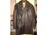 AUSTIN REED LEATHER JACKET (SELDOM WORN)