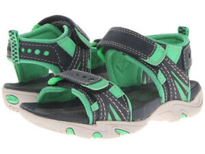 Boys Youth Size 12.5 Wide ~ Clarks Air Rocks Toddler Sandals