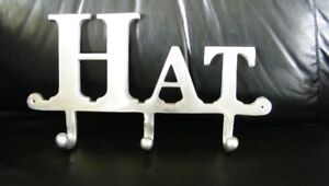 Silver Metal HAT Holder...New