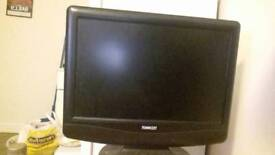 """17"""" technika TV with built in DVD player"""